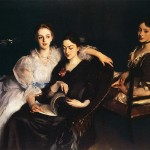 "John Singer Sargent, ""The Misses Vickers"" (1884)"