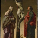 "Hendrick ter Brugghen, ""The Crucifixion with the Virgin and Saint John"" (1624-5)"