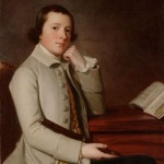 "George Romney, ""Young Man with a Flute"" (c. 1760-1770). Viewable at the Dallas Museum of Art"