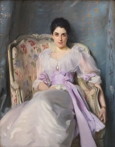 "John Singer Sargent, ""Lady Agnew of Lochnaw"" (c. 1892)"
