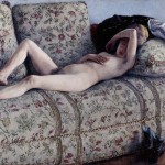 "Gustave Caillebotte, ""Nude on a Couch"" (1880)"