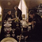 "Gustave Caillebotte, ""Luncheon"" (1876)"