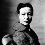 Irving Penn: Simone de Beauvoir (1957)